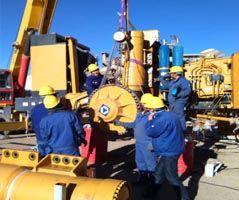 تعمیر و نگهداری  ماشین آلات معدنی
